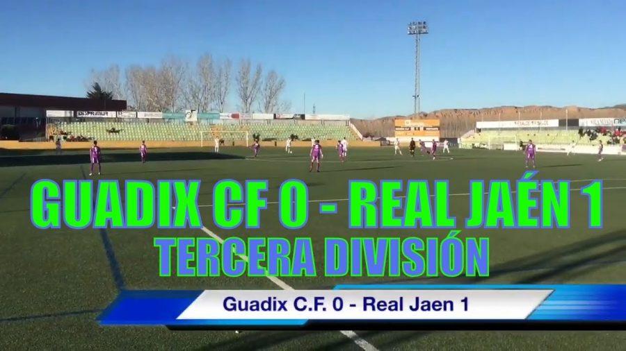 Guadix CF 0 - Real Jaén 1