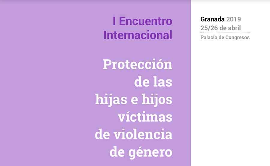 Encuentro internacional violencia de género