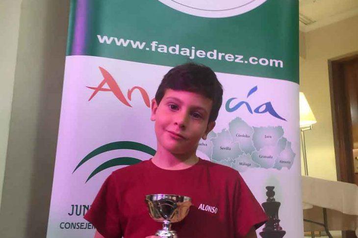Alonso Rivera 3º en el Campeonato de Andalucía de ajedrez
