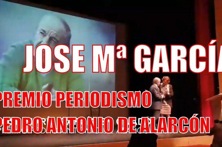 José Mª García - Premio Pedro Antonio de Alarcón Guadix 2019