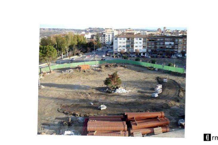 Gran vídeo de las obras de los cruces a la Plaza de las Américas de Guadix