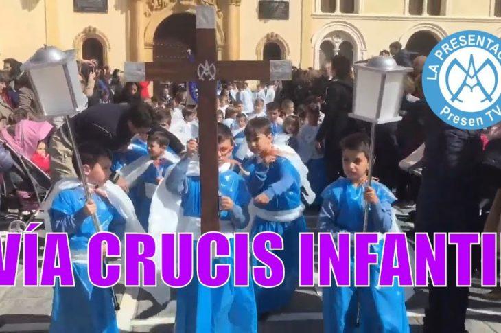 Vía crucis infantil del Colegio de la Presentación de Guadix