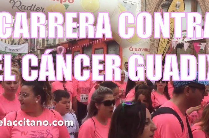 IV Carrera contra el cáncer Guadix 2019