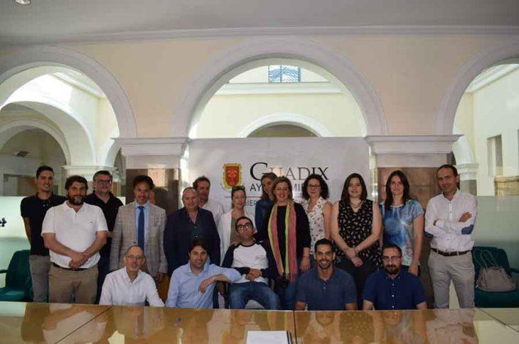 Inicio obras Alcazaba de Guadix