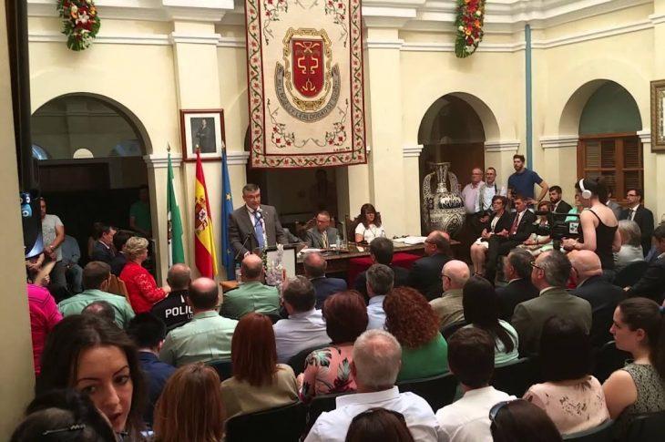 Pleno de constitución municipal de la legislatura 2019-2022