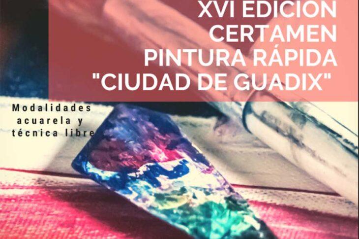 Certamen Pintura rápida Guadix