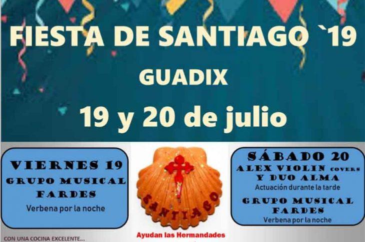 Fiesta de Santiago apostol en Guadix