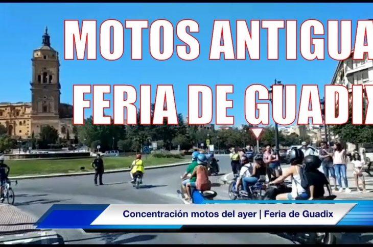 Concentración de Motos Antigua | Feria de Guadix