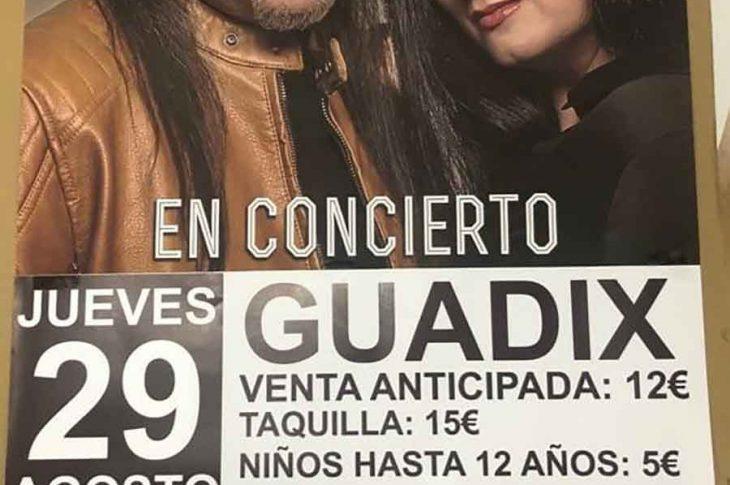 Camela en concierto | Feria de Guadix 2019