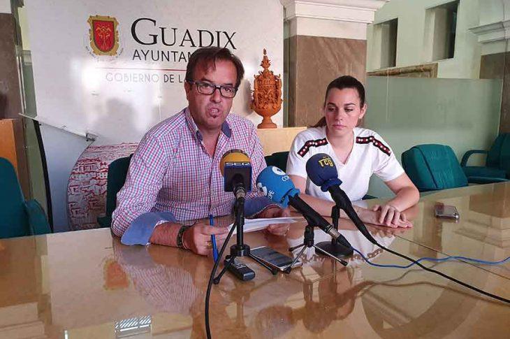 Concejal de deportes Guadix