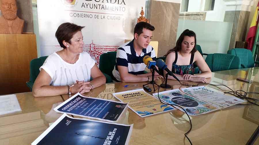 Concejal de juventud Guadix