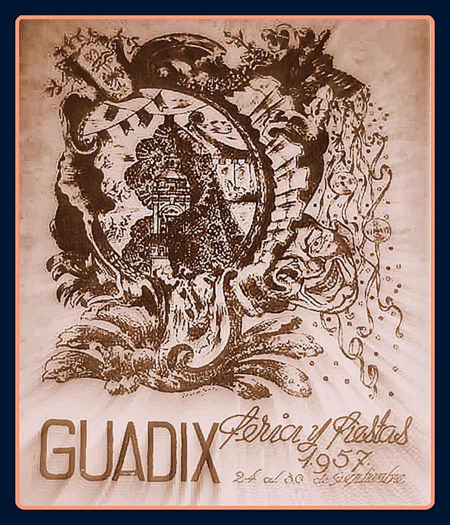 Feria de Guadix 1957