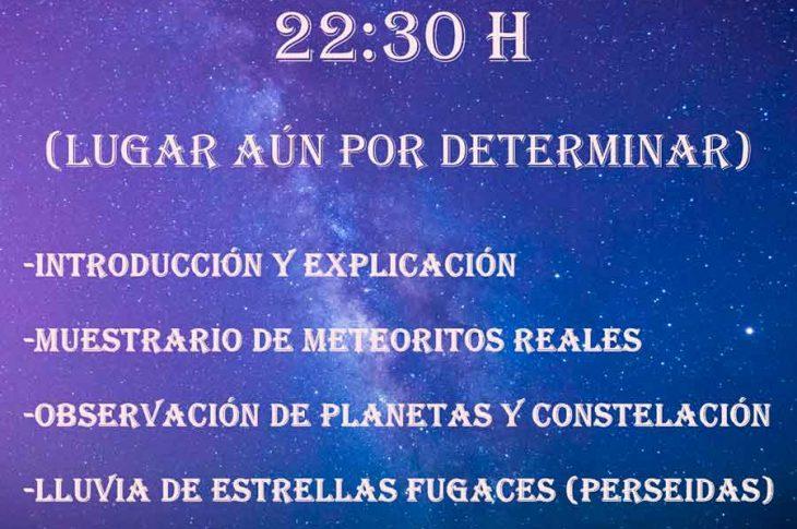 Observación astronómica Guadix