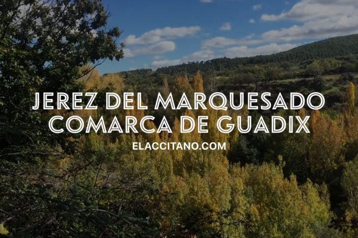 Entorno natural de Jerez del Marquesado