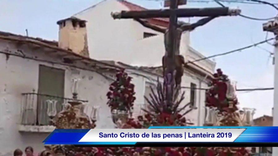 Lanteira celebra sus fiestas en honor al Santo Cristo de las Penas