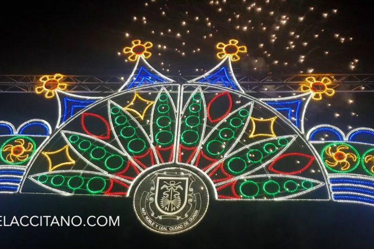 Espectáculo piromusical Feria de Guadix