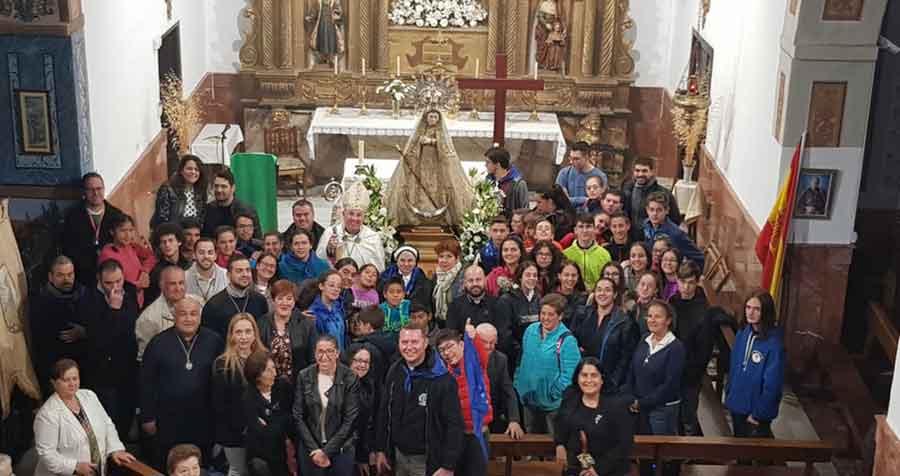 Peregrinación jovenes de la Diócesis de Guadix