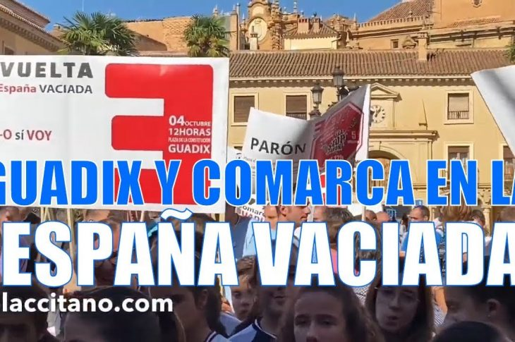 La España vaciada en la Comarca de Guadix