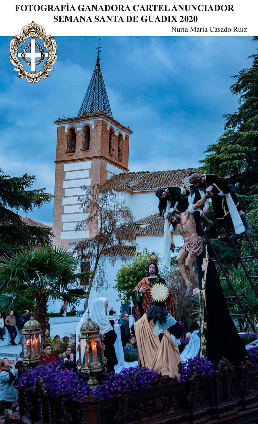 Cartel Semana Santa Guadix 2020