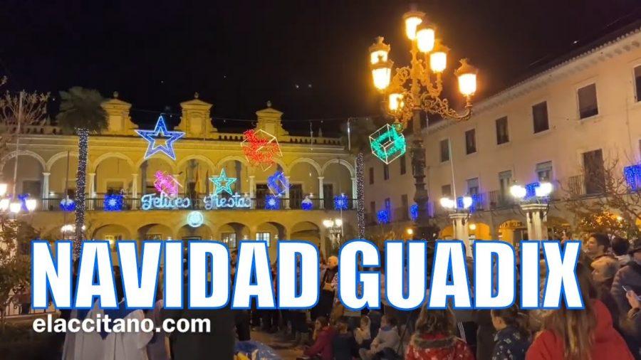 Encendido luces de Navidad en Guadix
