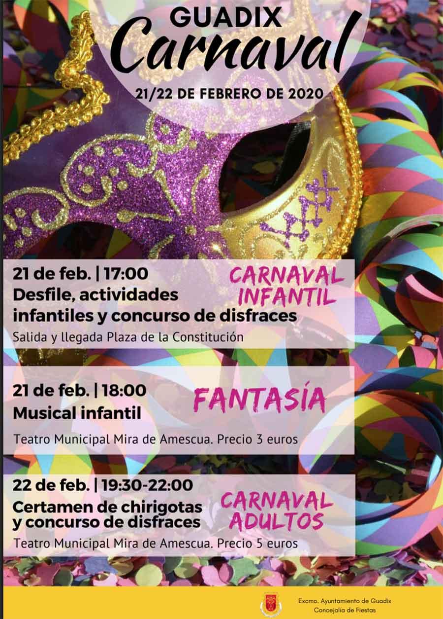 Carnaval Guadix 2020