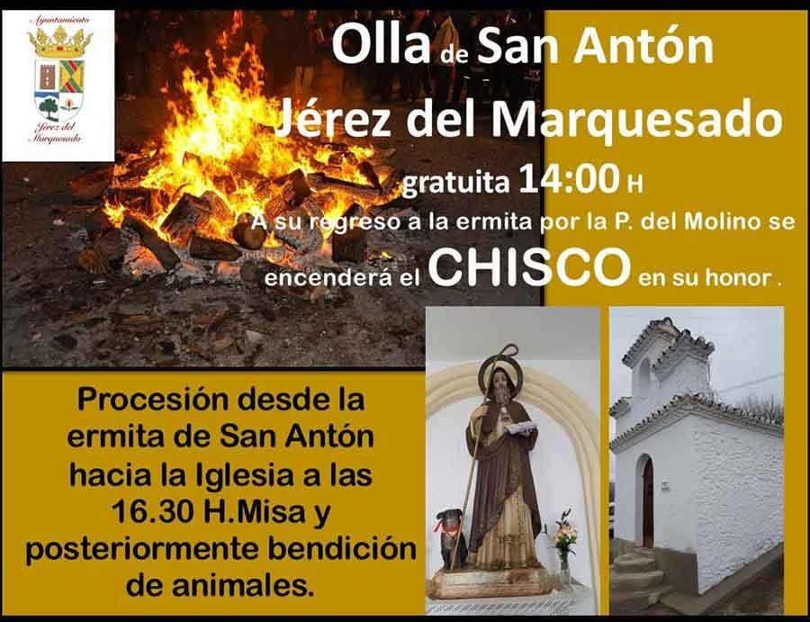 Fiesta de San Antón en Jérez del Marquesado