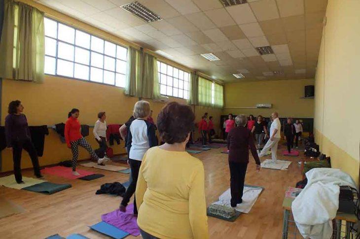 Taller yoga Guadix