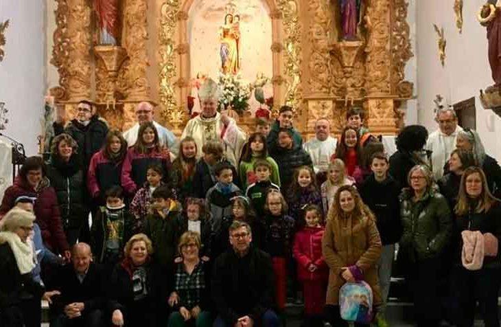 Visita pastoral Jerez del Marquesado