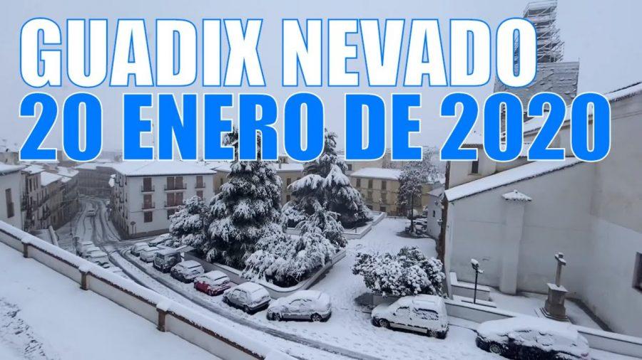 Nevada en Guadix