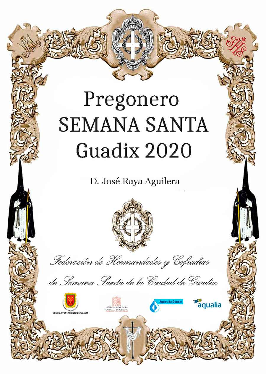 Pregón Semana Santa Guadix 2020