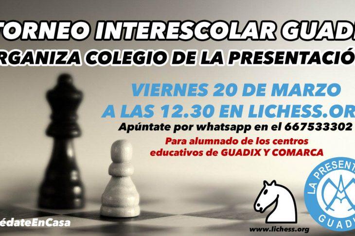 Torneo interescolar online Ciudad de Guadix