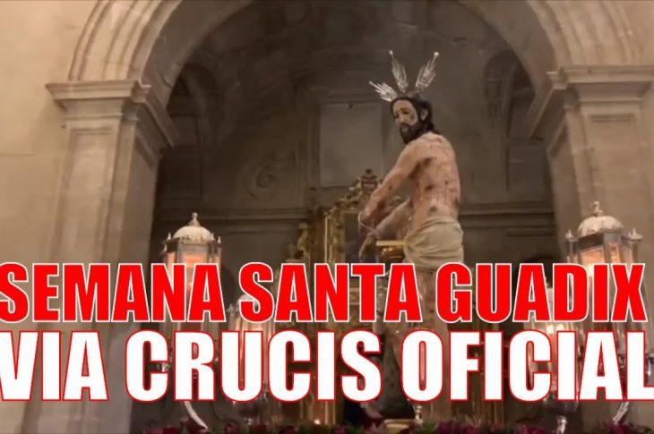 Via crucis oficial Semana Santa Guadix 2020
