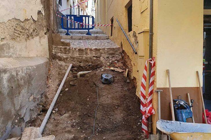 Obras Calle santisteban