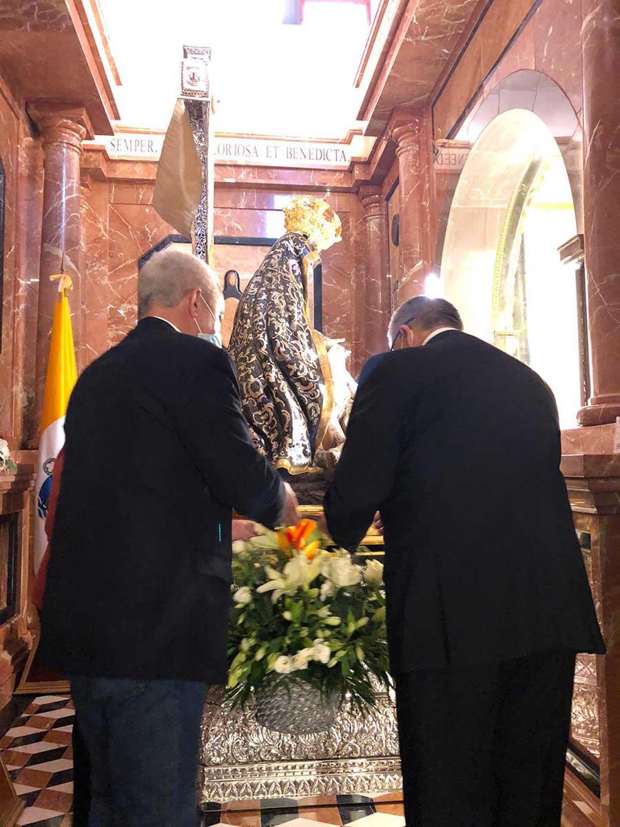 Ofrenda floral Virgen de las Angustias de Guadix