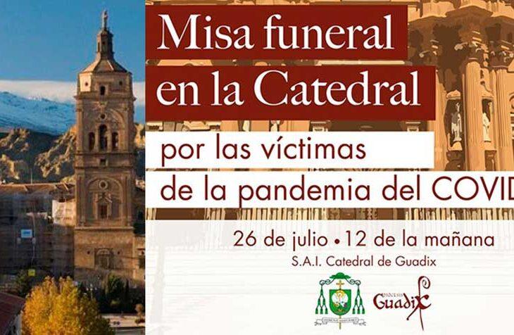 Funeral victimas covid Guadix