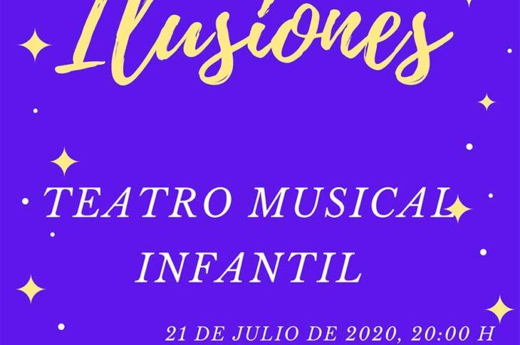 """La Barriada de Andalucía, acogerá hoy el teatro musical infantil """"Ilusiones"""""""
