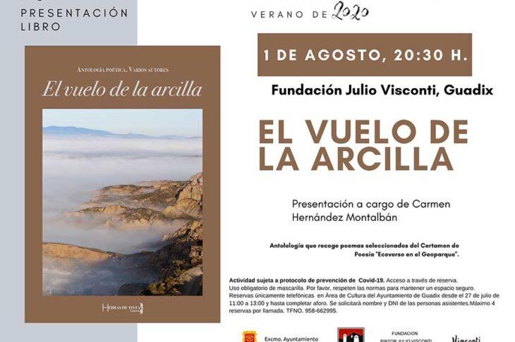 """La Fundación Pintor Julio Visconti acoge este sábado 1 de agosto la presentación de la antología poética """"El vuelo de la arcilla"""""""