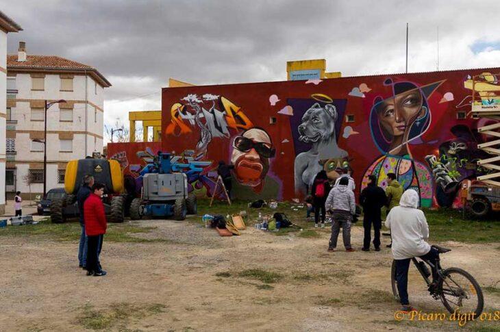 Graffitis Niño de las pinturas Guadix