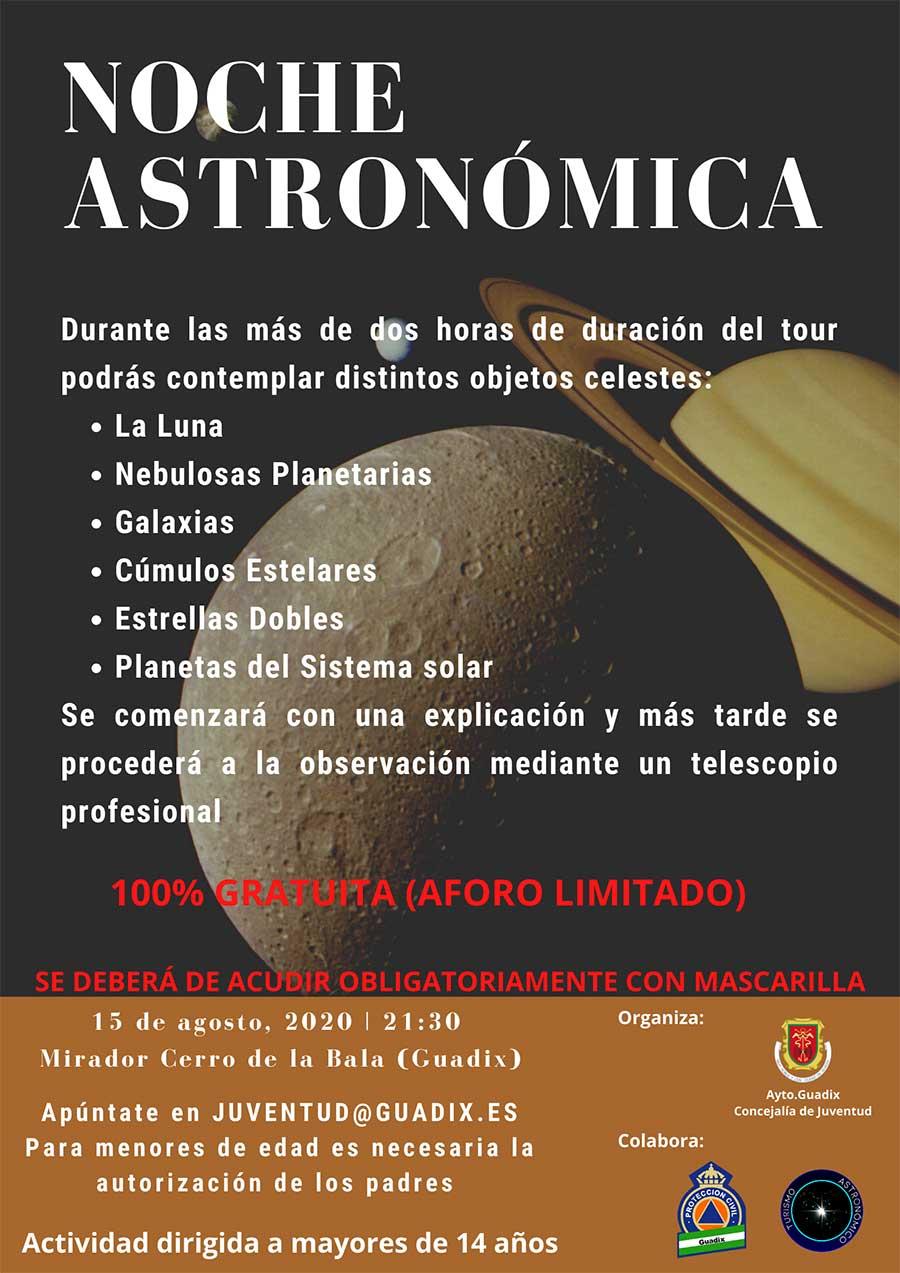 Noche Astronómica Guadix