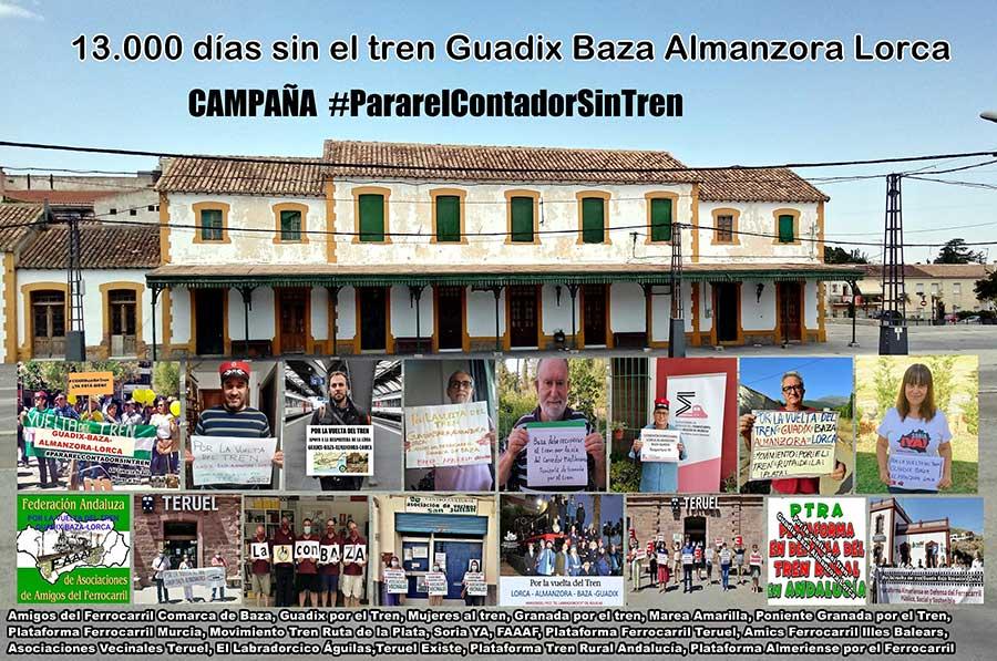 Tren Guadix Baza Almanzora Lorca