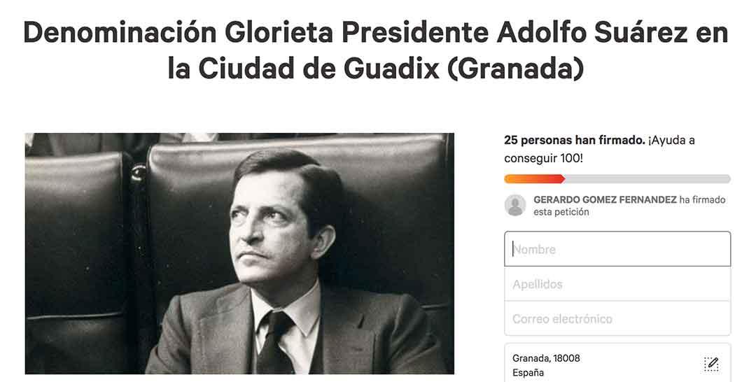 Glorieta Adolfo Suárez