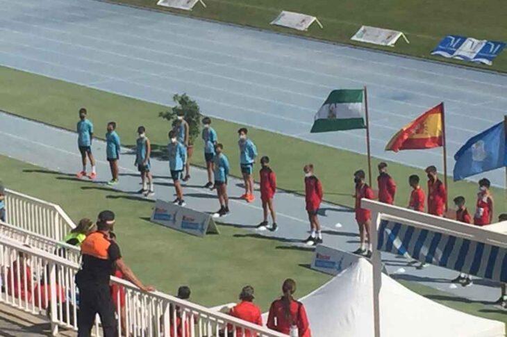 Gran participación del Juventud atlética en el Campeonato Nacional Sub14 por equipos