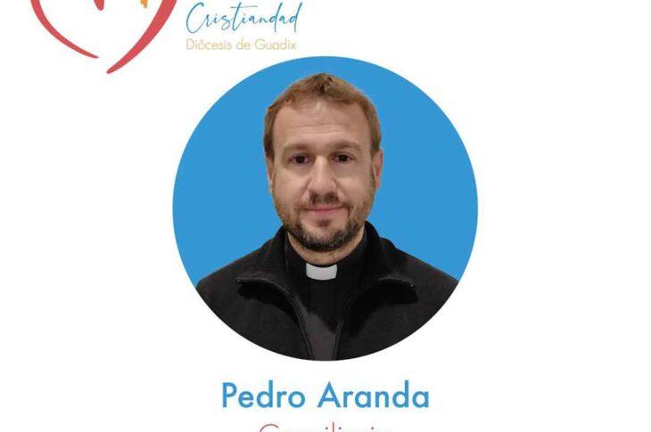 Carta de presentación de D. Pedro Aranda, consiliario de los Cursillos de Cristiandad