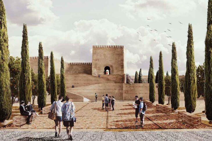 proyecto de recuperación de la Alcazaba de Guadix