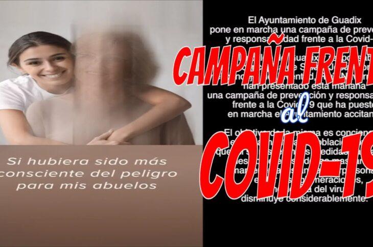 Campaña de prevención y responsabilidad frente a la Covid-19 en Guadix