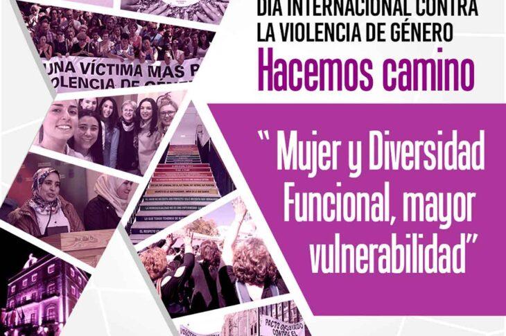 Mujer y diversidad funcional mayor vulnerabilidad | 25N Guadix