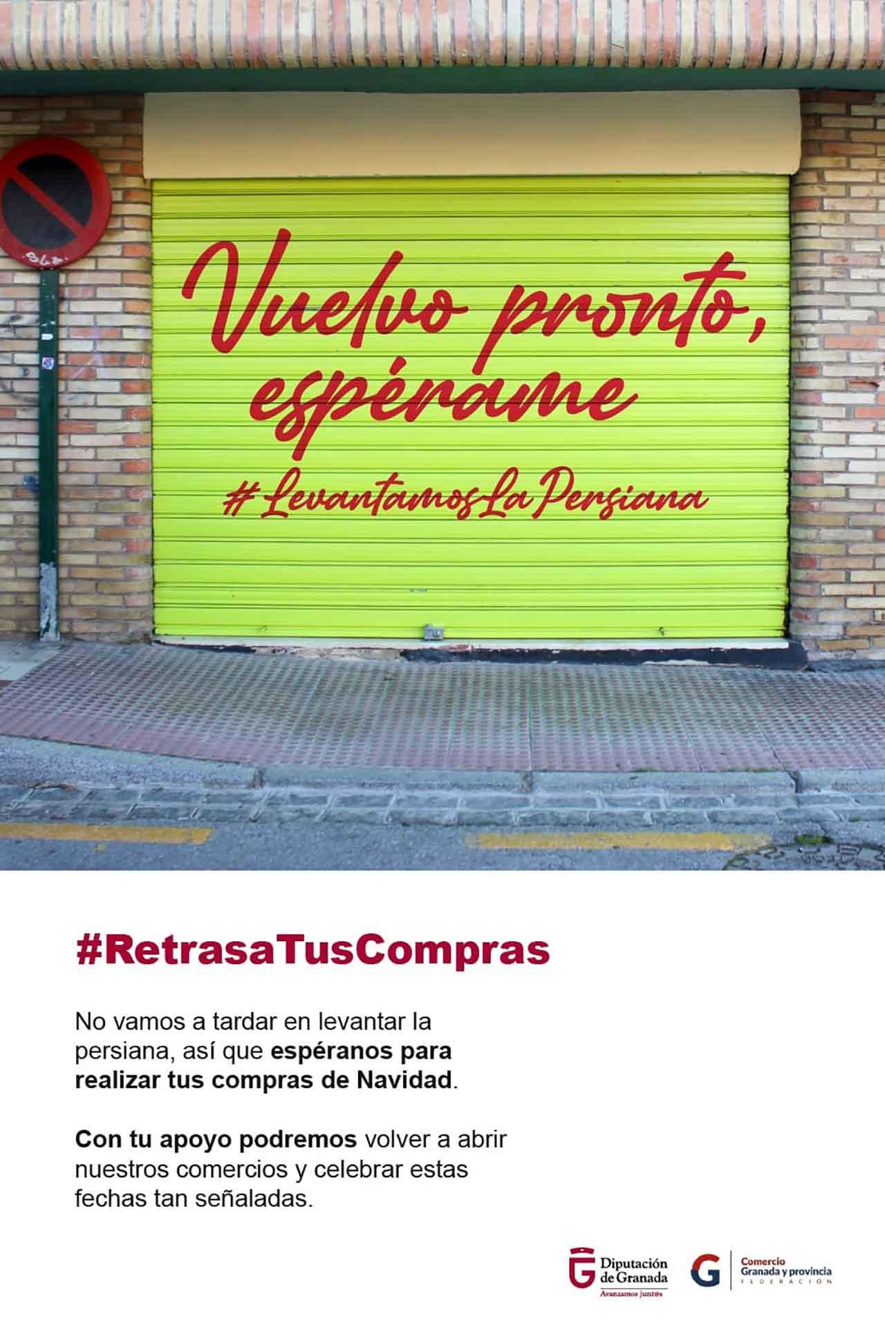 Campaña de Diputación para apoyar el comercio local
