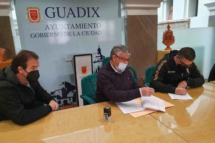 Convenio Guadix CF