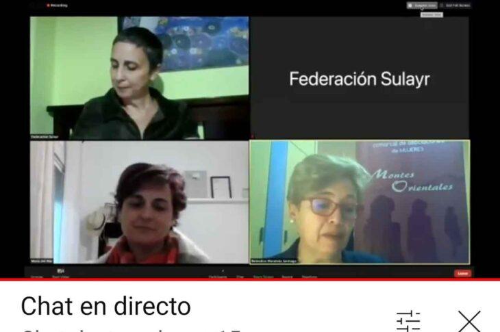Federación Sulayr y Federación AM Montes Orientales establecen las bases de futuras redes de colaboración en un encuentro online