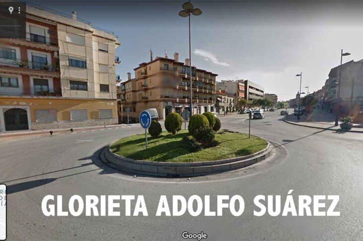 Aprobado en pleno poner el nombre del Presidente Adolfo Suárez a la glorieta de la avenida Mariana Pineda